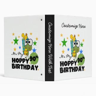 """Cumpleaños de lúpulo del Froggy 90.o Carpeta 1"""""""