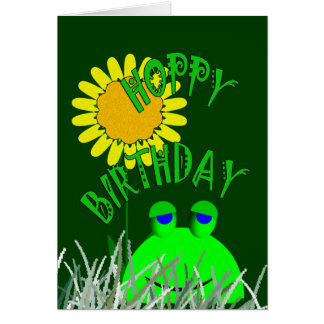 Cumpleaños de lúpulo felicitación