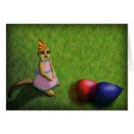 Cumpleaños de Meerkat, tarjeta de felicitación
