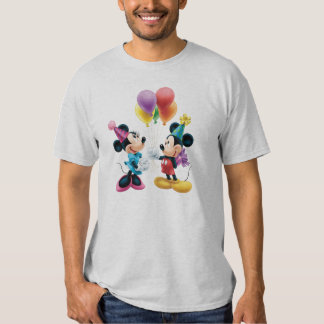 Cumpleaños de Mickey y de Minnie el | Playera