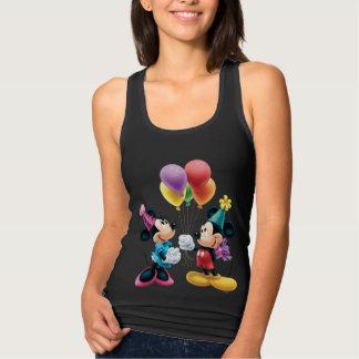 Cumpleaños de Mickey y de Minnie el | Playera De Tirantes Cruzados