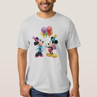 Cumpleaños de Mickey y de Minnie el | Remera