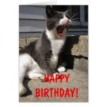 Cumpleaños de Morty Tarjeton