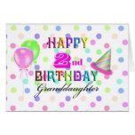 Cumpleaños de Polkadot de la nieta 2do