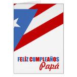 Cumpleaños de Puerto Rico Tarjeta De Felicitación