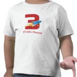 Cumpleaños de Rocket retro Camisetas