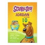 """Cumpleaños de Scooby Doo Invitación 5"""" X 7"""""""
