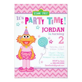 """Cumpleaños de Zoe Invitación 5"""" X 7"""""""