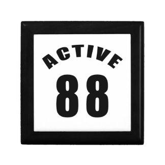Cumpleaños del Active 88 Caja De Regalo