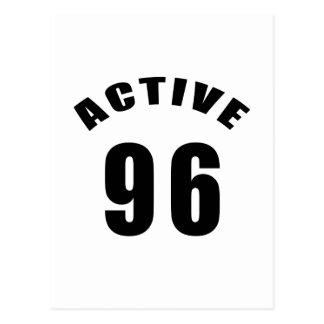 Cumpleaños del Active 96 Postal