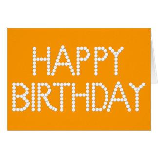 Cumpleaños del arco iris del fiesta del caramelo f felicitación