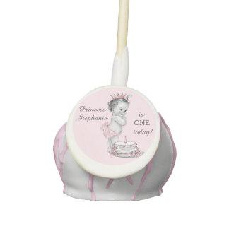 Cumpleaños del bebé de la princesa y de la torta 1