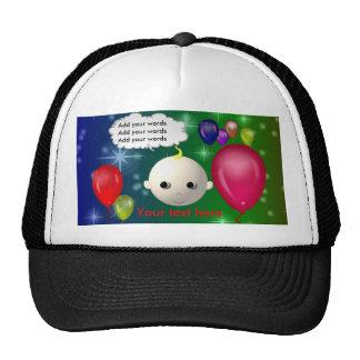 Cumpleaños del bebé gorras