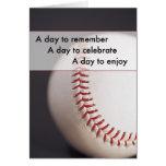 Cumpleaños del béisbol 3970 tarjetas