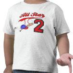 Cumpleaños del béisbol de All Star 2do Camiseta