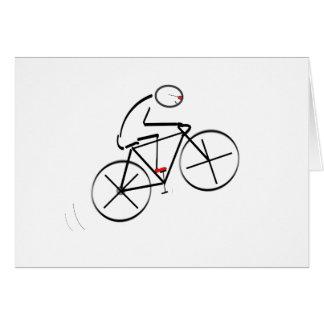 Cumpleaños del Bicyclist Felicitacion