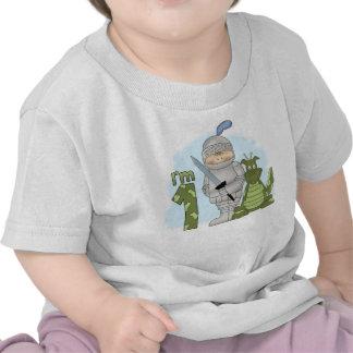 Cumpleaños del caballero del dragón 1r camisetas