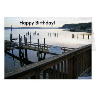 ¡Cumpleaños del canal de la capilla feliz! Tarjeta De Felicitación