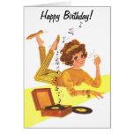 cumpleaños del chica de la música de los años 60 f