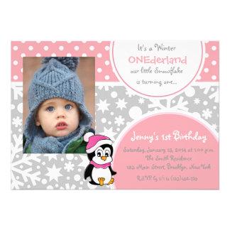 Cumpleaños del copo de nieve de ONEderland del inv