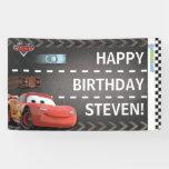Cumpleaños del cumpleaños de los coches lona