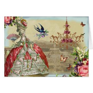 Cumpleaños del de Versalles de los recuerdos feliz Tarjeta De Felicitación