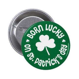 Cumpleaños del día de St Patrick Pin