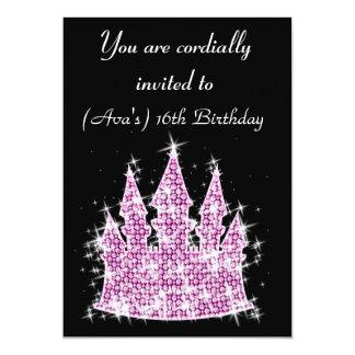 Cumpleaños del diamante artificial del castillo de