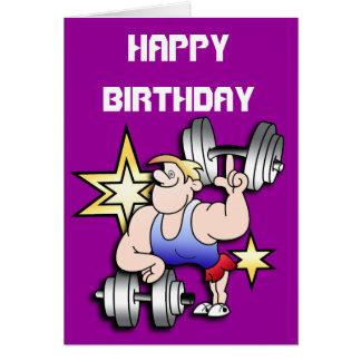 Cumpleaños del dictador tarjeta de felicitación