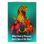 Cumpleaños del dinosaurio felicitaciones