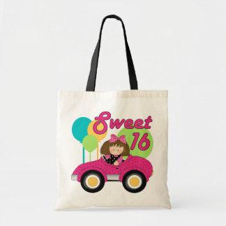 Cumpleaños del dulce 16 bolsa tela barata
