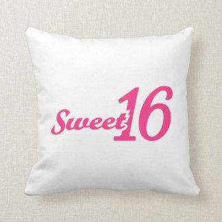 Cumpleaños del dulce 16 almohadas