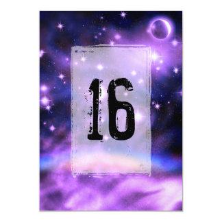 Cumpleaños del dulce 16 de la fantasía del arco comunicado personalizado