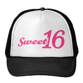 Cumpleaños del dulce 16 gorro de camionero