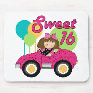 Cumpleaños del dulce 16 tapetes de ratón
