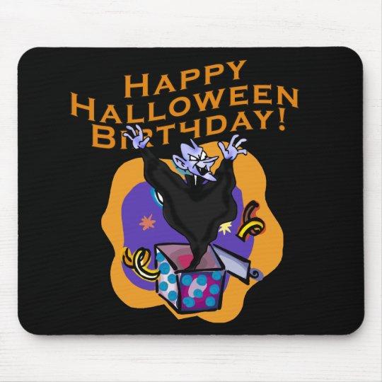 ¡Cumpleaños del feliz Halloween! Alfombrilla De Ratón