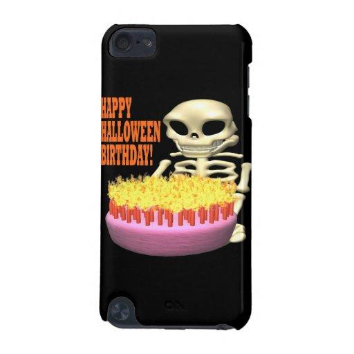 Cumpleaños del feliz Halloween Funda Para iPod Touch 5G