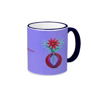 cumpleanos del feliz taza de café