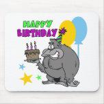 Cumpleaños del gorila alfombrillas de ratones