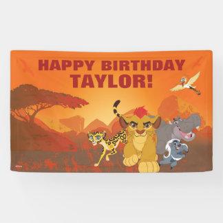 Cumpleaños del guardia el | del león lona