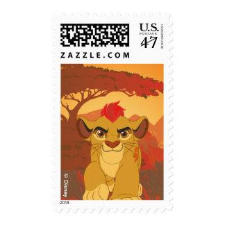 Cumpleaños del guardia el | del león timbres postales