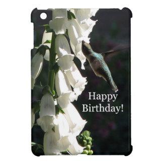 Cumpleaños del jardín del colibrí feliz