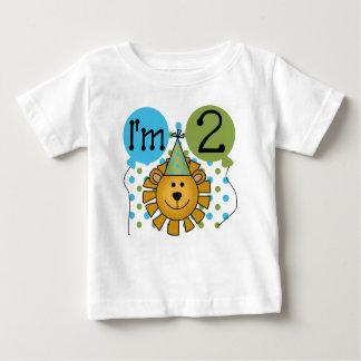 Cumpleaños del león tee shirts