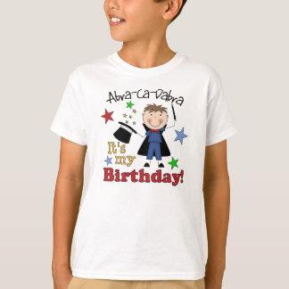 Cumpleaños del mago de los niños polera
