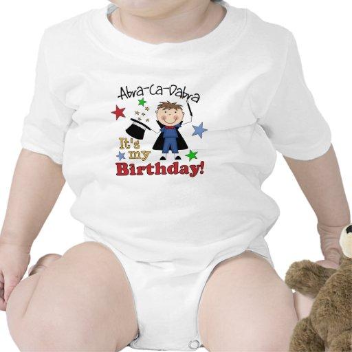 Cumpleaños del mago de los niños trajes de bebé