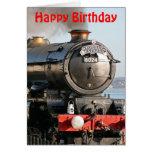Cumpleaños del motor de vapor de rey Edward 1 Tarjeta De Felicitación