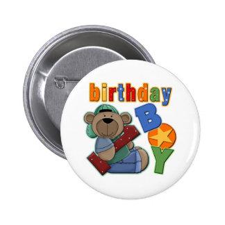 Cumpleaños del muchacho del cumpleaños 1r pin