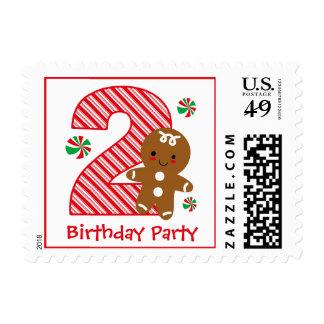 Cumpleaños del muchacho del pan de jengibre 2do