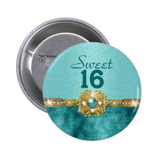"""cumpleaños del oro 16 del trullo del """"dulce diecis pins"""