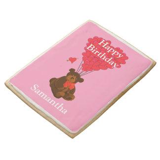 Cumpleaños del oso de peluche de Childs feliz